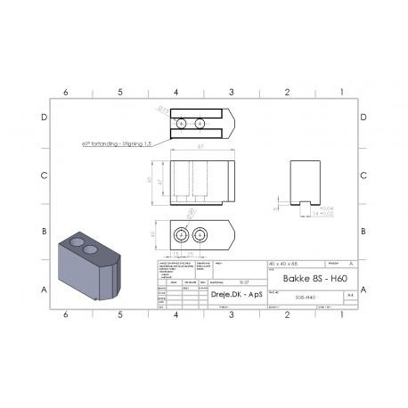 8S-H80 (Egnet til emnediameter 35-45mm), st235